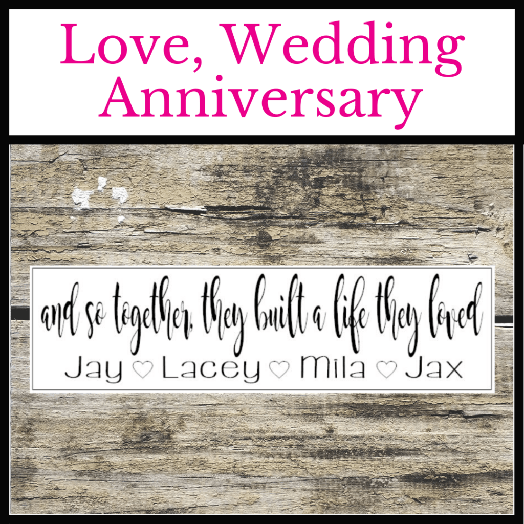 #twiddlebugdesigns #weddingsigns #lovesigns #anniversarysigns #wedding #love #anniversary#oviedo #shoplocaloviedo