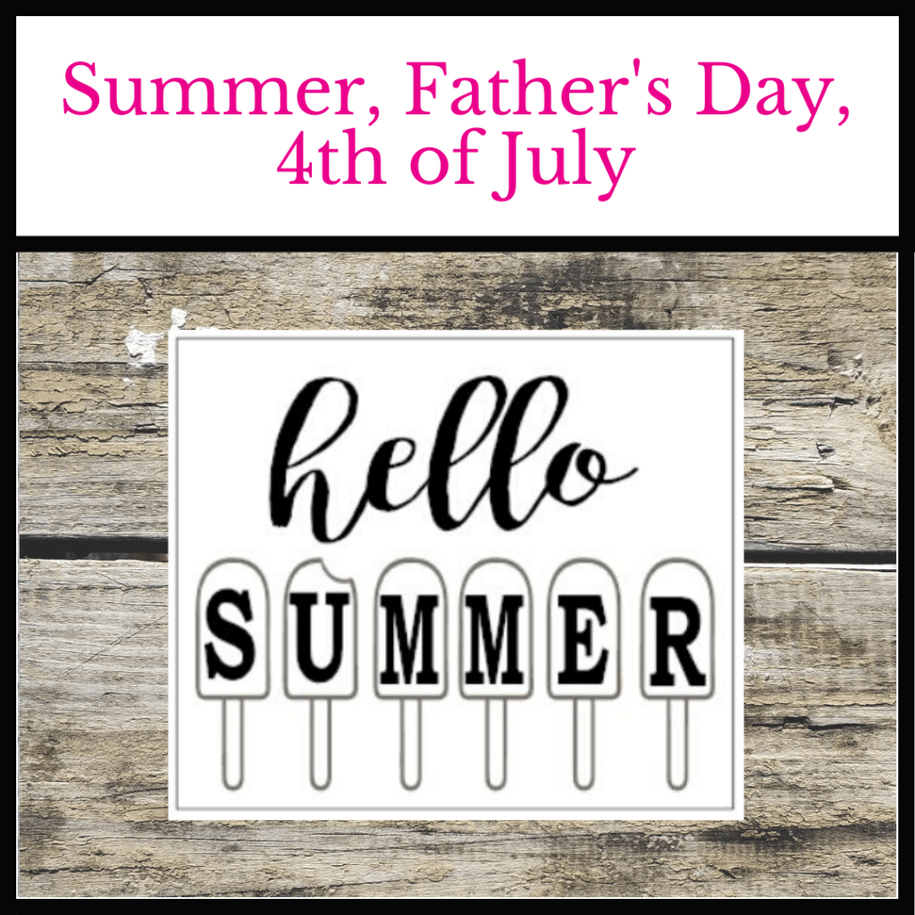 #twiddlebugdesigns #summer #father'sdaysigns #summersigns #4thofjuly #4thofjulysigns #porchsigns #oviedo #shoplocaloviedo