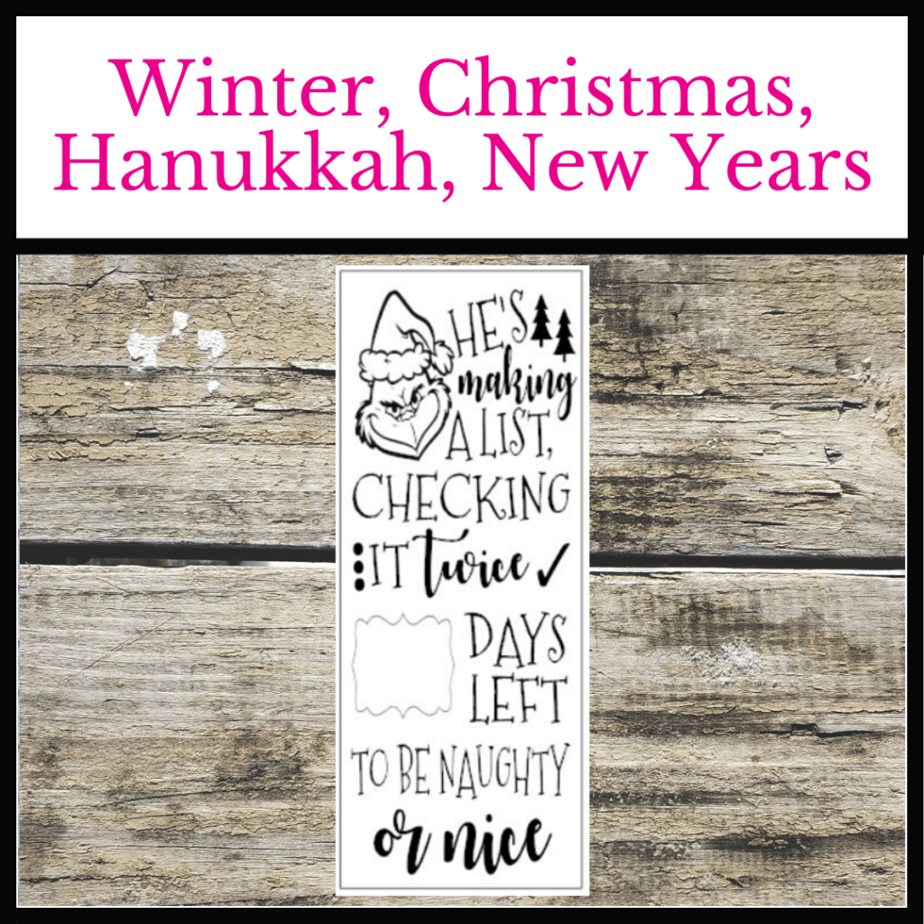 #twiddlebugdesigns #woodsigns #christmas #christmasdecor #christmassigns #winter #winterdecor #wintersigns #hanukkahsigns #hanukkahdecor #newyearsdecor #oviedo #shoplocaloviedo